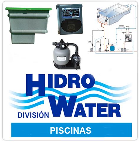 hidrowater division piscinas